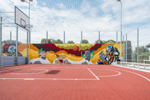 Fun Court (Basketball side)