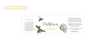 Honey packaging for Melliferum